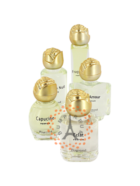 Fragonard - 5 Miniatures Parfums De Collectin