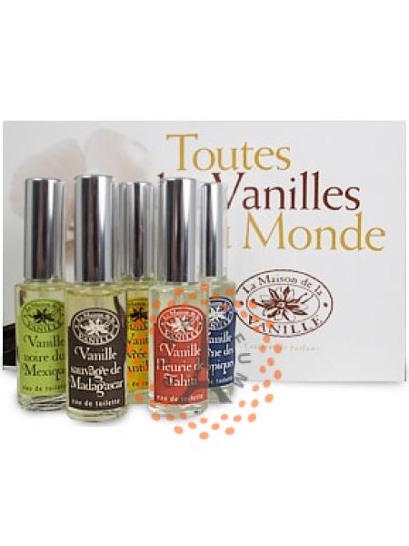 La Maison de la Vanille - 5-pack Sampler