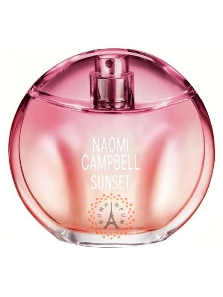 Naomi Campbell Sunset