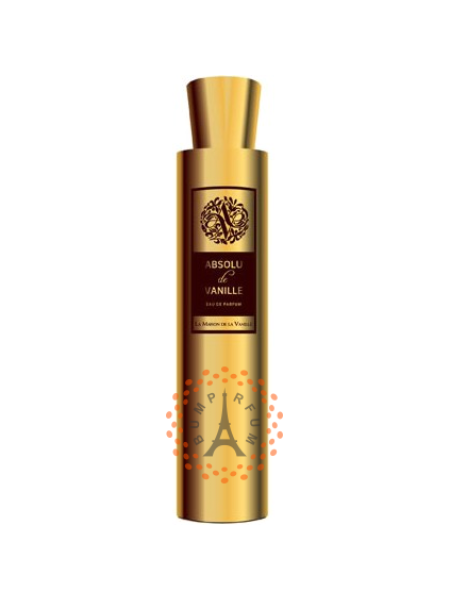La Maison de la Vanille - Les Parfums d'Absolu Absolu de Vanille